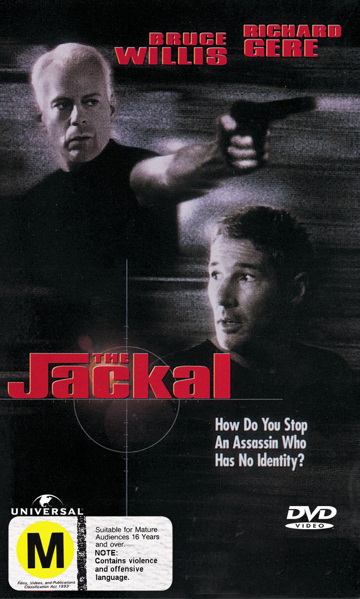 The Jackal on DVD image