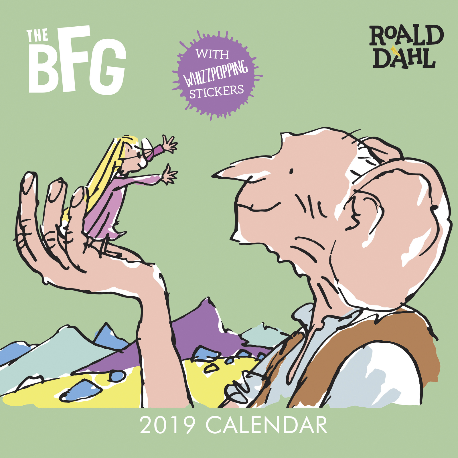 Roald Dahl: The BFG 2019 Wall Calendar image