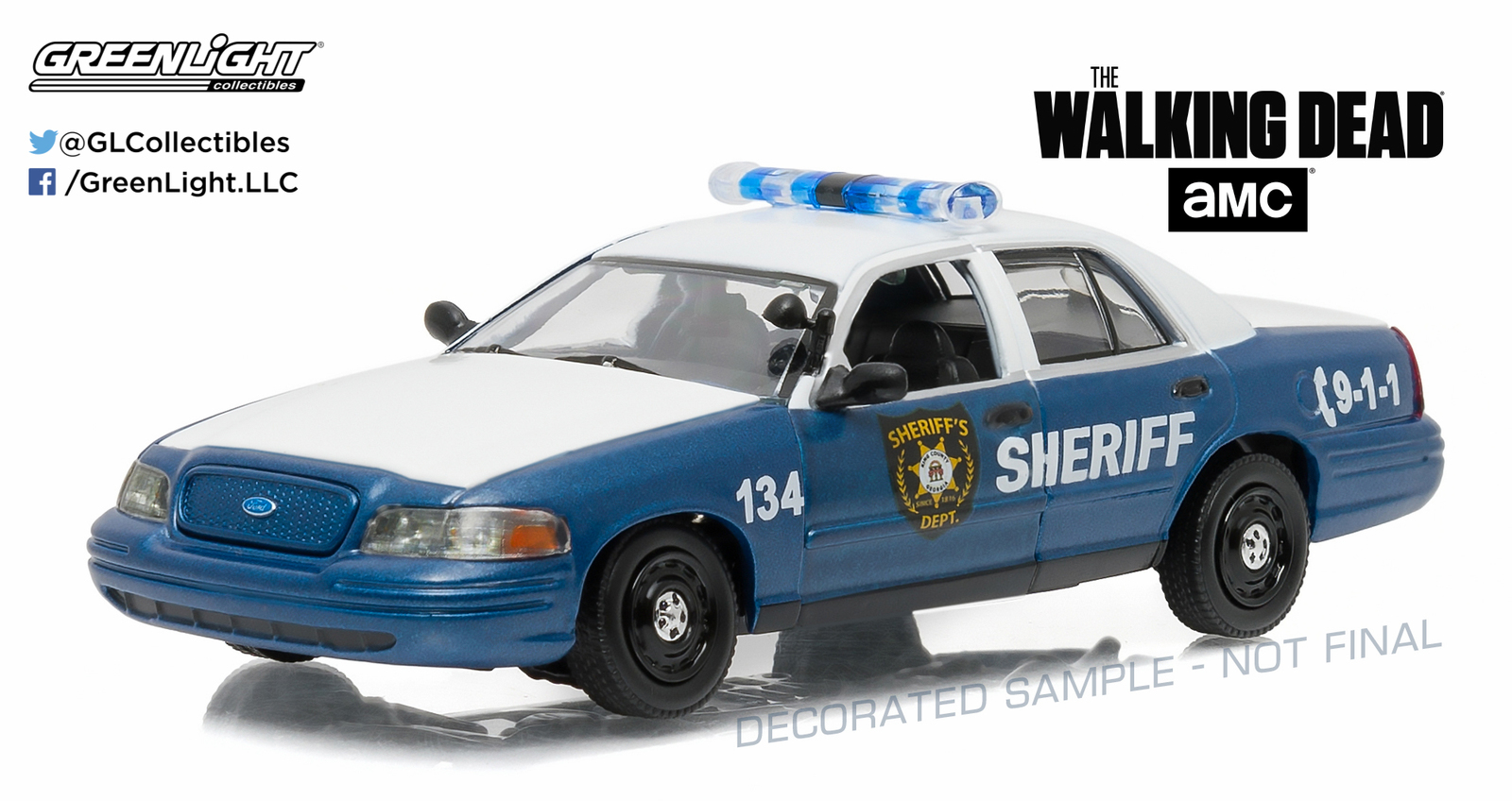 1/43: 2001 Ford Crown Victoria - Police - Diecast Model image