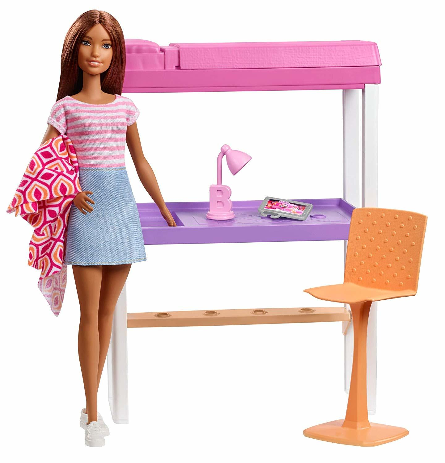 Barbie Bedroom Playset Toy At Mighty Ape Nz