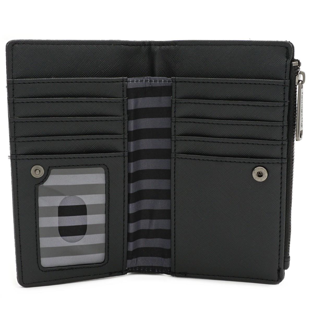Loungefly: Harry Potter - Black Debossed Wallet image