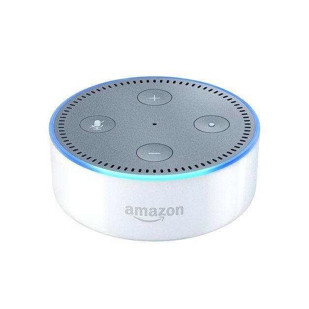 Amazon: Echo Dot 2nd Generation Speaker - White