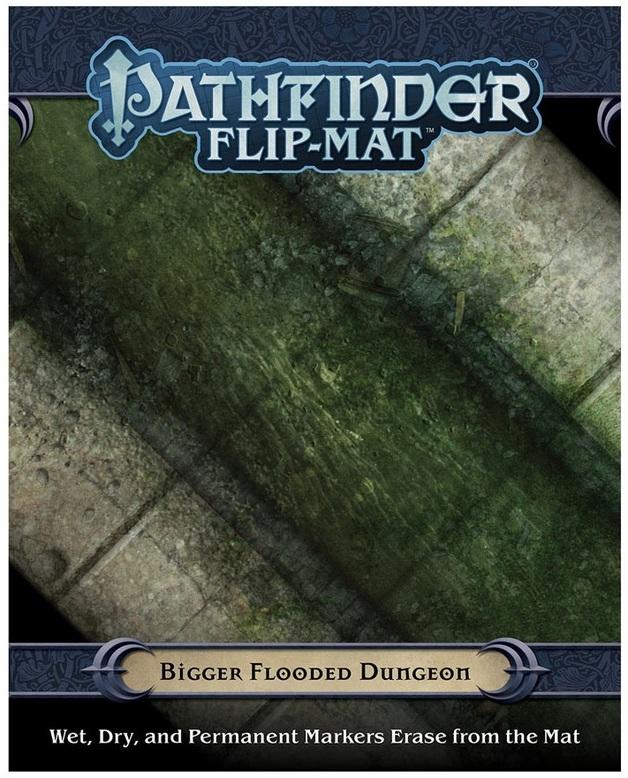 Pathfinder RPG: Flip-Mat - Bigger Flooded Dungeon