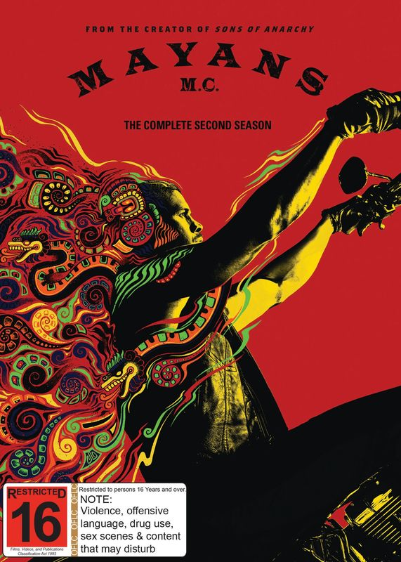 Mayans M.C. - The Complete Second Season on DVD