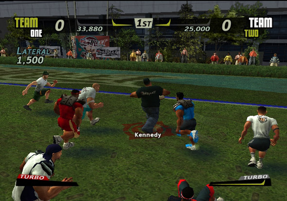 NFL Street screenshot