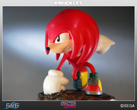 "Sonic the Hedgehog 10"" Statue - Knuckles the Echidna (Limited Ed. 1500) image"