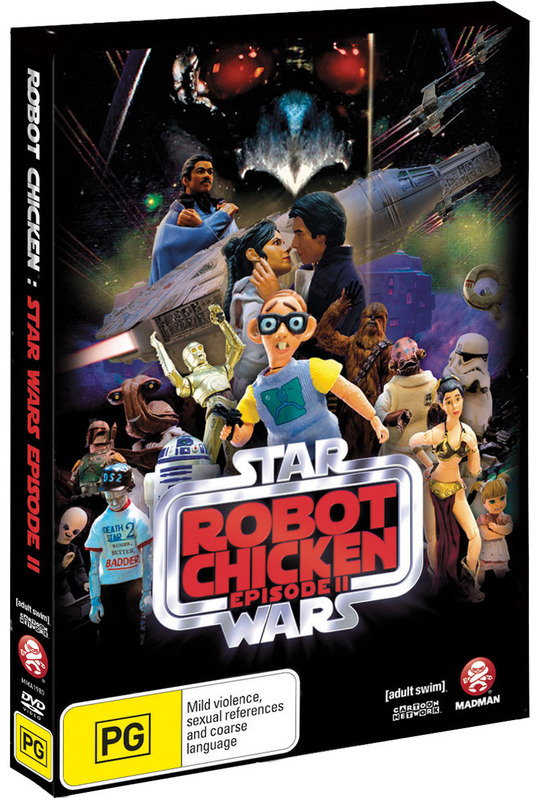 Robot Chicken: Star Wars Special - Episode 2 on DVD