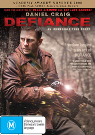 Defiance on DVD