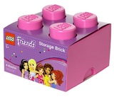 LEGO Friends Storage Brick 4 (Pink)