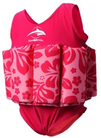 Konfidence Float Suit (Fuchsia Hibiscus) (1-2 Years)