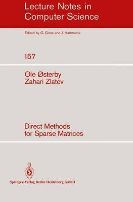 Direct Methods for Sparse Matrices by O. Osterby