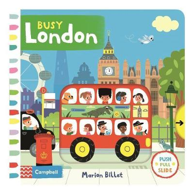 Busy London by Marion Billet