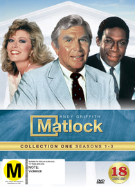 Matlock - Collection 1 (Season 1-3) on DVD