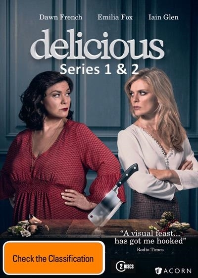 Delicious - Series 1 & 2 on DVD