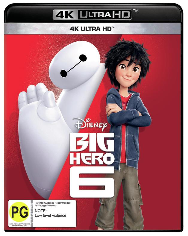 Big Hero 6 on UHD Blu-ray