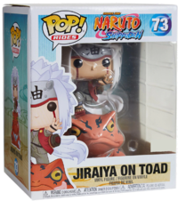 Naruto: Jiraiya on Toad Pop! Ride Figure image