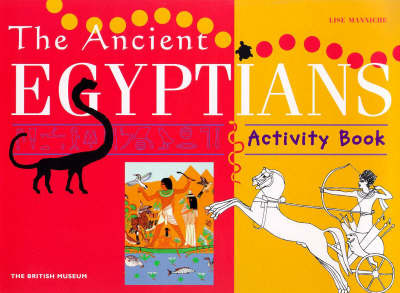 Ancient Egyptians Activity Book by Lise Manniche image
