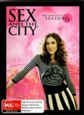 Sex And The City - Season 6 (5 Disc Set)  on DVD