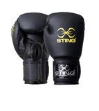 ARMAPLUS BOXING GLOVE (Black/Yellow) 14oz