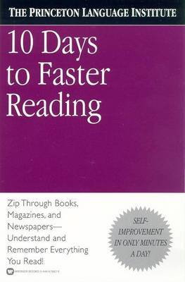 Ten Days to Faster Reading by Abby Marks Beale image
