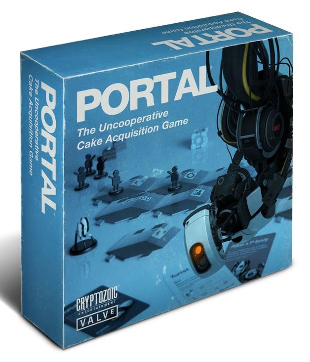 Portal: The Uncooperative Cake Acquisition Game