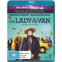 The Lady In The Van on Blu-ray