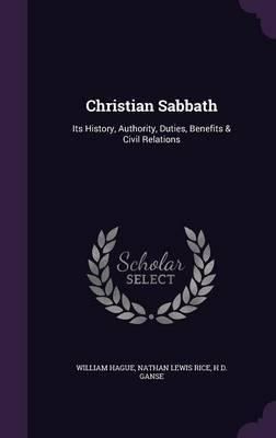 Christian Sabbath by William Hague image