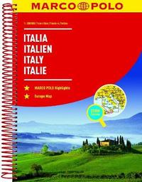 Italy Marco Polo Road Atlas by Marco Polo