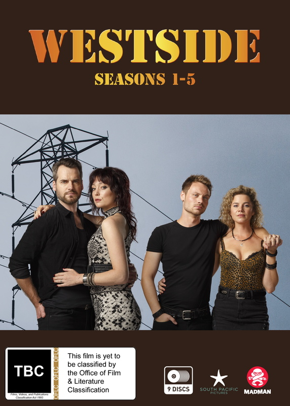 Westside Series 1-5 Boxset on DVD