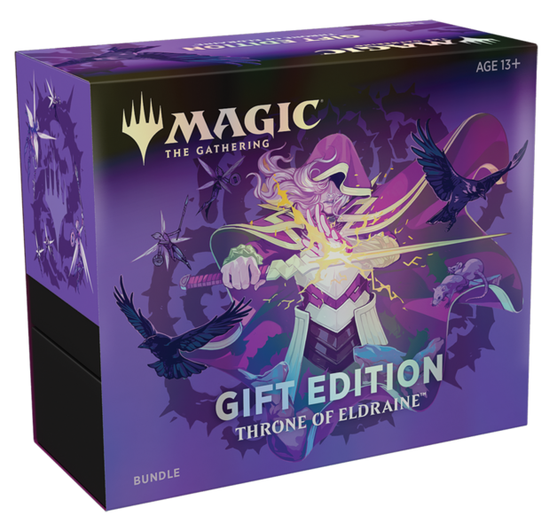 Magic The Gathering: Throne of Eldraine Gift Bundle