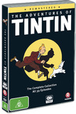 The Adventures of Tintin - Remastered on DVD