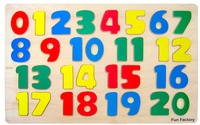Fun Factory: Numbers Raised Puzzle image