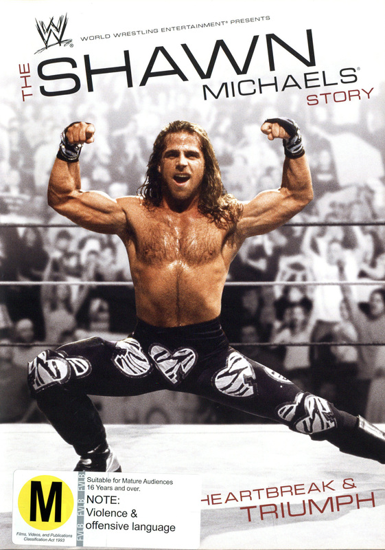 WWE - The Shawn Michaels Story: Heartbreak And Triumph on DVD