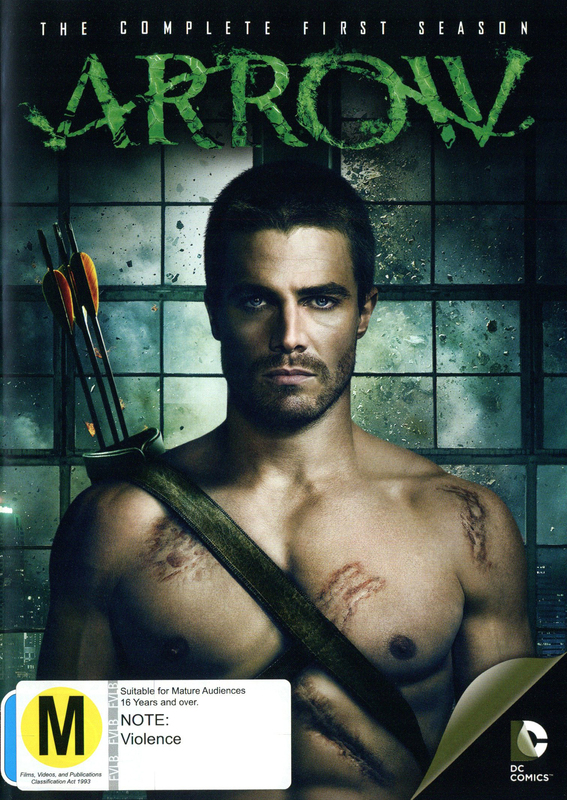 Arrow - The Complete First Season on DVD
