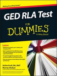 GED RLA For Dummies by Achim K. Krull