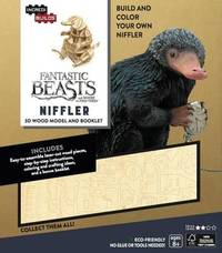 Incredibuilds: Fantastic Beasts and Where to Find Them: Niffler 3D Wood Model and Booklet
