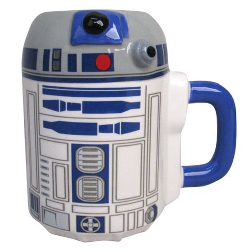 Star Wars: R2-D2 Ceramic Sculpted Mug