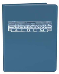 Ultra Pro: 4-Pocket Collectors Portfolio - Blue