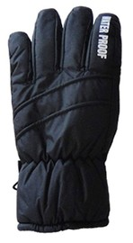 Mountain Wear: Black Z18R Kids Gloves (Large)