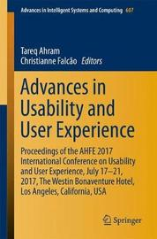 Advances in Usability and User Experience