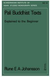 Pali Buddhism Texts Nims14 by Rune E.A. Johansson