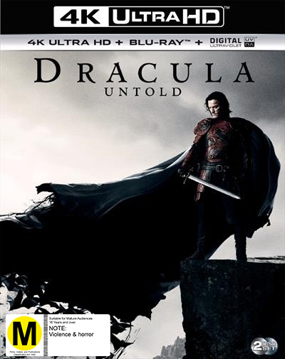 Dracula Untold on UHD Blu-ray