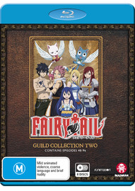 Fairy Tail Guild - Collection 2 (Eps 49-96) on Blu-ray