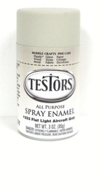 Model Master: Enamel Aerosol - Flat Gray image