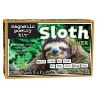 Magnetic Poetry - Sloth Lover