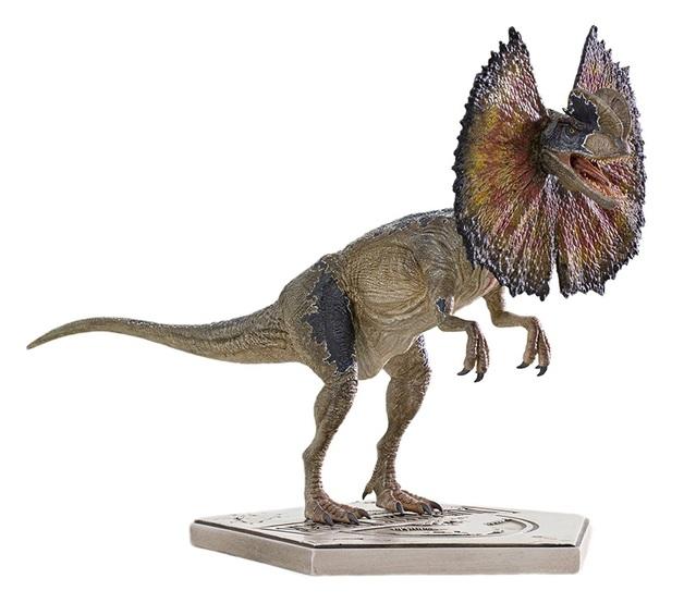 Jurassic Park: 1/10 Dilophosaurus - Art Scale Statue