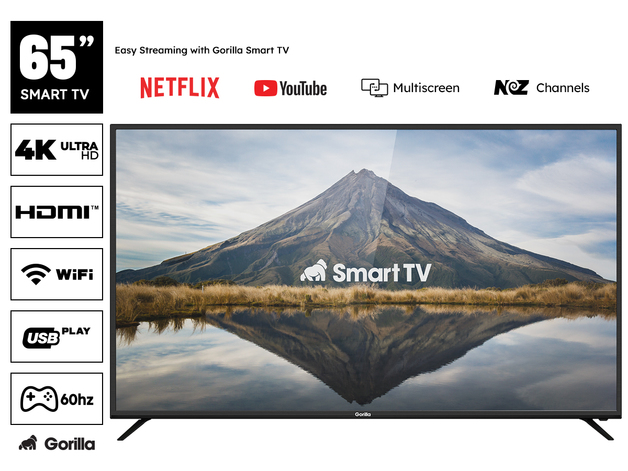 "Gorilla 65"" Smart HDR 4K LED TV"