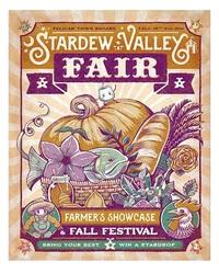 "Stardew Valley: Fair Poster (16""x20"") - Art Print"