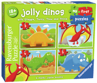 Ravensburger: My First Puzzle - Jolly Dinos