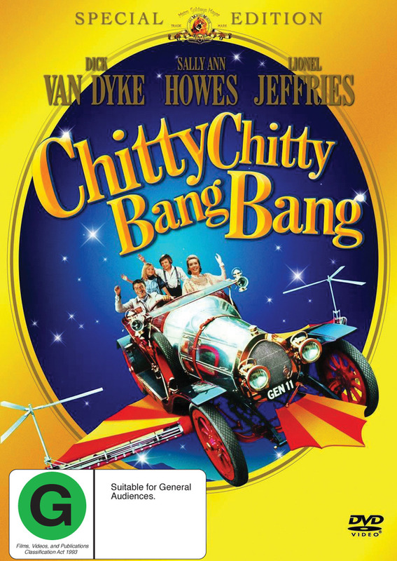Chitty Chitty Bang Bang - Special Edition (2 Disc Set) on DVD